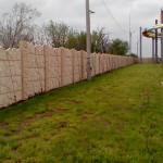 Забор для Одесского аквапарка